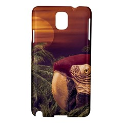 Tropical Style Collage Design Poster Samsung Galaxy Note 3 N9005 Hardshell Case
