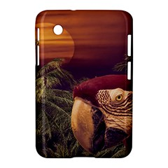 Tropical Style Collage Design Poster Samsung Galaxy Tab 2 (7 ) P3100 Hardshell Case