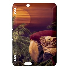 Tropical Style Collage Design Poster Kindle Fire HDX Hardshell Case