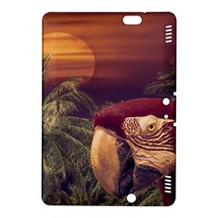Tropical Style Collage Design Poster Kindle Fire HDX 8.9  Hardshell Case