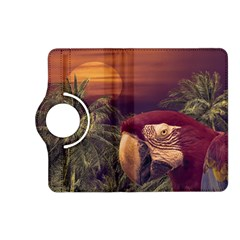 Tropical Style Collage Design Poster Kindle Fire HD (2013) Flip 360 Case