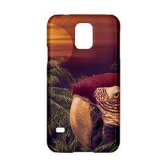 Tropical Style Collage Design Poster Samsung Galaxy S5 Hardshell Case