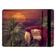Tropical Style Collage Design Poster Samsung Galaxy Tab Pro 12.2  Flip Case