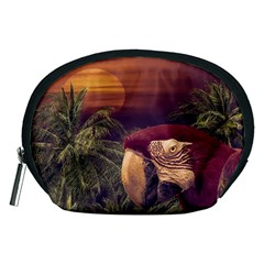 Tropical Style Collage Design Poster Accessory Pouches (Medium)