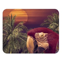 Tropical Style Collage Design Poster Double Sided Flano Blanket (Large)