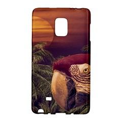 Tropical Style Collage Design Poster Galaxy Note Edge