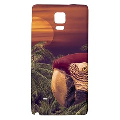 Tropical Style Collage Design Poster Galaxy Note 4 Back Case