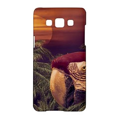 Tropical Style Collage Design Poster Samsung Galaxy A5 Hardshell Case