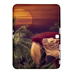 Tropical Style Collage Design Poster Samsung Galaxy Tab 4 (10.1 ) Hardshell Case