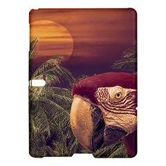 Tropical Style Collage Design Poster Samsung Galaxy Tab S (10.5 ) Hardshell Case