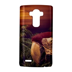 Tropical Style Collage Design Poster LG G4 Hardshell Case