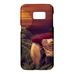 Tropical Style Collage Design Poster Samsung Galaxy S7 Hardshell Case