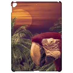 Tropical Style Collage Design Poster Apple iPad Pro 12.9   Hardshell Case