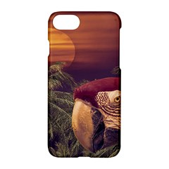 Tropical Style Collage Design Poster Apple iPhone 7 Hardshell Case