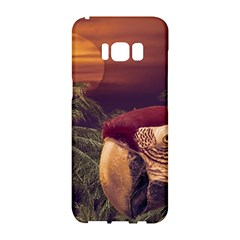 Tropical Style Collage Design Poster Samsung Galaxy S8 Hardshell Case