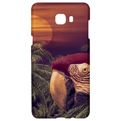 Tropical Style Collage Design Poster Samsung C9 Pro Hardshell Case