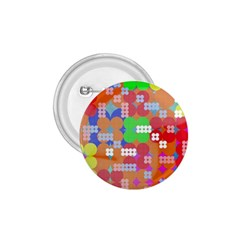Abstract Polka Dot Pattern 1 75  Buttons