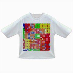 Abstract Polka Dot Pattern Infant/Toddler T-Shirts