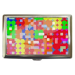 Abstract Polka Dot Pattern Cigarette Money Cases