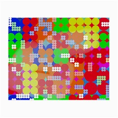 Abstract Polka Dot Pattern Small Glasses Cloth (2-Side)
