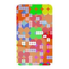 Abstract Polka Dot Pattern Memory Card Reader