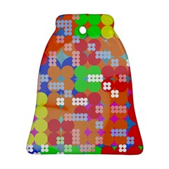 Abstract Polka Dot Pattern Ornament (bell)