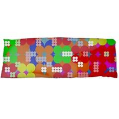 Abstract Polka Dot Pattern Body Pillow Case Dakimakura (Two Sides)