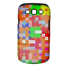 Abstract Polka Dot Pattern Samsung Galaxy S III Classic Hardshell Case (PC+Silicone)