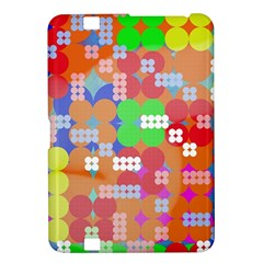 Abstract Polka Dot Pattern Kindle Fire Hd 8 9