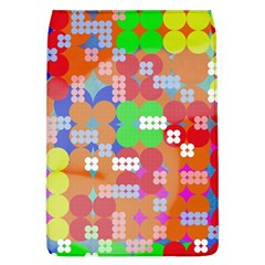 Abstract Polka Dot Pattern Flap Covers (L)