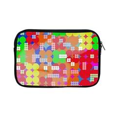 Abstract Polka Dot Pattern Apple iPad Mini Zipper Cases