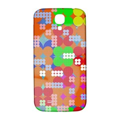 Abstract Polka Dot Pattern Samsung Galaxy S4 I9500/I9505  Hardshell Back Case