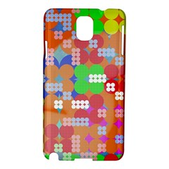 Abstract Polka Dot Pattern Samsung Galaxy Note 3 N9005 Hardshell Case