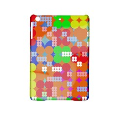 Abstract Polka Dot Pattern Ipad Mini 2 Hardshell Cases