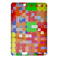Abstract Polka Dot Pattern Amazon Kindle Fire HD (2013) Hardshell Case