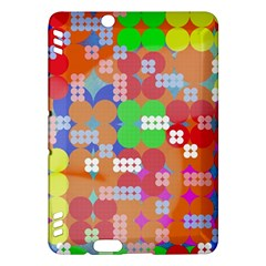 Abstract Polka Dot Pattern Kindle Fire Hdx Hardshell Case