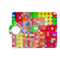 Abstract Polka Dot Pattern Kindle Fire HD (2013) Flip 360 Case