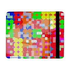 Abstract Polka Dot Pattern Samsung Galaxy Tab Pro 8 4  Flip Case