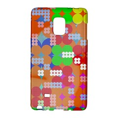 Abstract Polka Dot Pattern Galaxy Note Edge