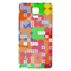 Abstract Polka Dot Pattern Galaxy Note 4 Back Case
