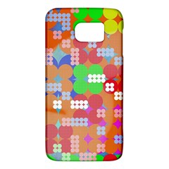 Abstract Polka Dot Pattern Galaxy S6