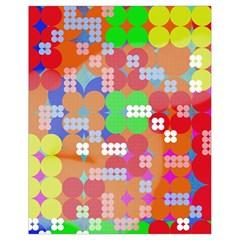 Abstract Polka Dot Pattern Drawstring Bag (Small)