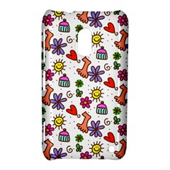 Cute Doodle Wallpaper Pattern Nokia Lumia 620