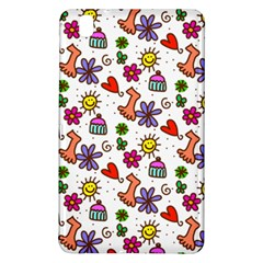 Cute Doodle Wallpaper Pattern Samsung Galaxy Tab Pro 8 4 Hardshell Case