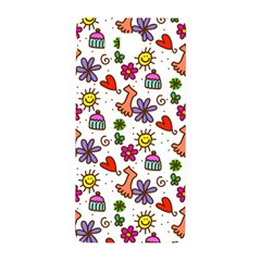 Cute Doodle Wallpaper Pattern Samsung Galaxy Alpha Hardshell Back Case