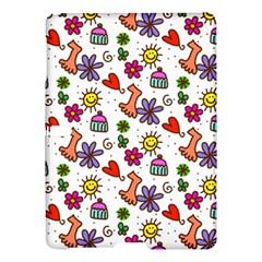 Cute Doodle Wallpaper Pattern Samsung Galaxy Tab S (10 5 ) Hardshell Case