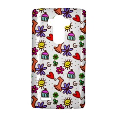Cute Doodle Wallpaper Pattern Lg G4 Hardshell Case
