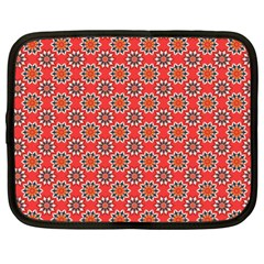 Floral Seamless Pattern Vector Netbook Case (Large)
