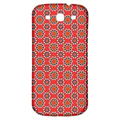 Floral Seamless Pattern Vector Samsung Galaxy S3 S III Classic Hardshell Back Case