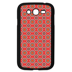 Floral Seamless Pattern Vector Samsung Galaxy Grand DUOS I9082 Case (Black)
